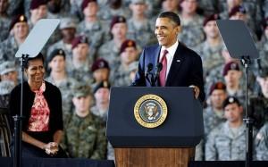 Barack Obama lopettaa sodan