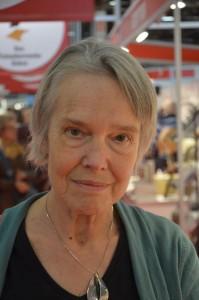 Professor emerita, färfattaren Merete Mazzarella